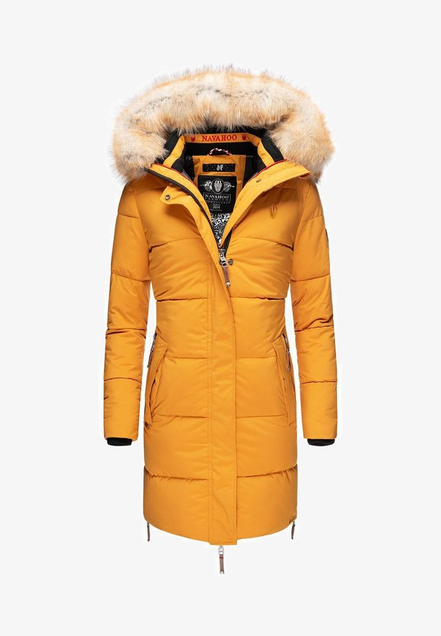 HALINA - Winter coat - yellow