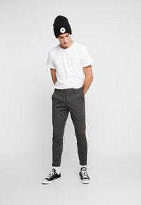 Gabba - PISA - Trousers - grey pin - 1