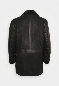Belstaff - DENNISON JACKET ELEVATED SHEARLING - Leather jacket - black - 1