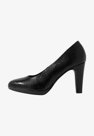 COURT SHOE - Zapatos altos - black