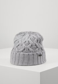 Michael Kors - CABLE CUFF HAT - Mössa - heather grey - 0
