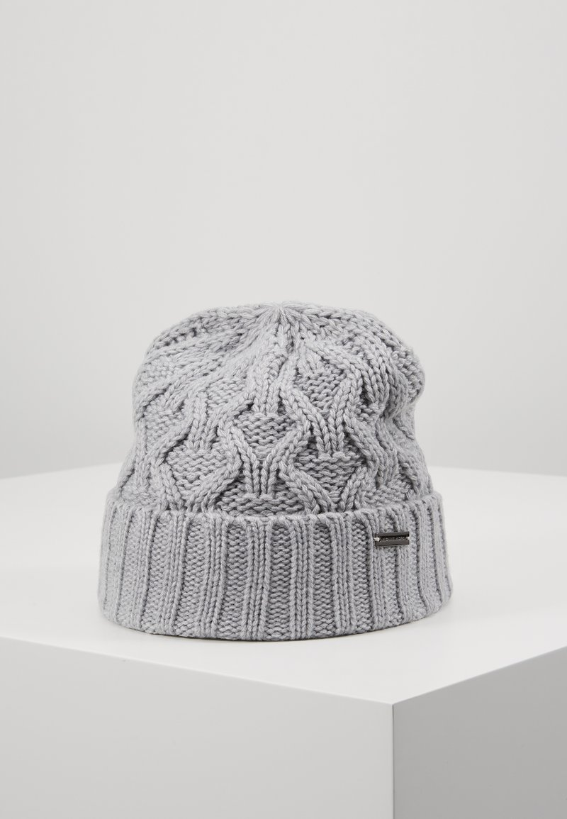 Michael Kors - CABLE CUFF HAT - Berretto - heather grey