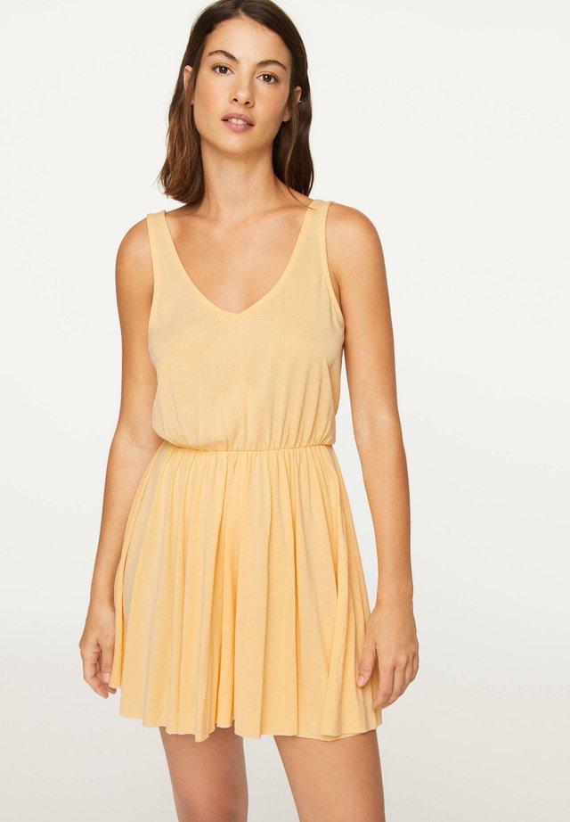 Tuta jumpsuit - yellow