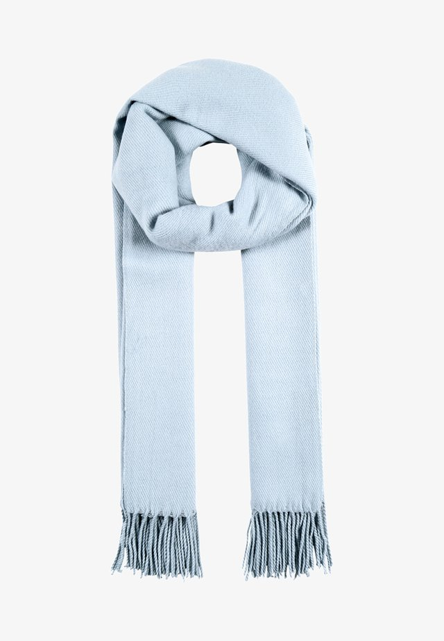 VMSOLID LONG SCARF COLOR - Scarf - cashmere blue