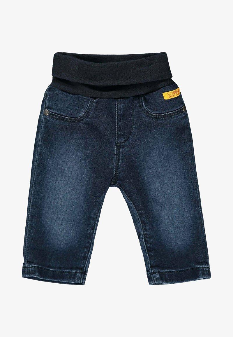 Steiff Collection - MIT NIEDLICHEM TEDDYBÄR - Straight leg jeans - mood indigo