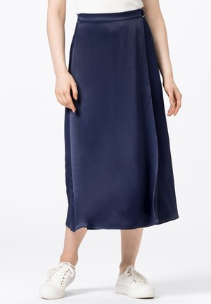A-line skirt - tintenblau
