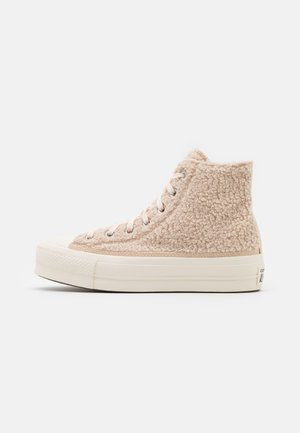 CHUCK TAYLOR ALL STAR LIFT - High-top trainers - farro/egret/black