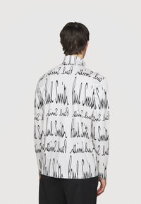 Paul Smith - GENTS ROLL NECK ARCHIVE LOGO PRINT - Long sleeved top - white/black - 2