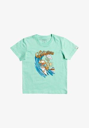 BREAK THE FALL - Print T-shirt - cabbage