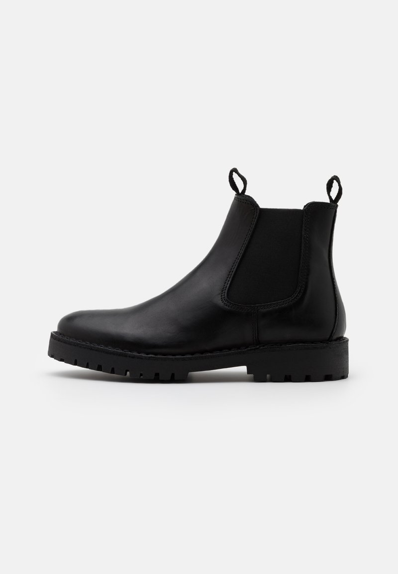 Selected Homme - SLHRICKY CHELSEA BOOT - Korte laarzen - black