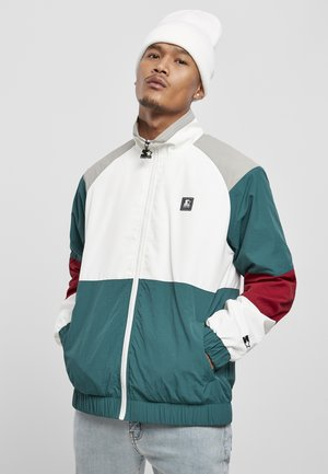 Summer jacket - retro grn/wht/brick rd/gry