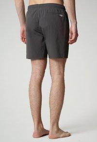 Napapijri - Swimming shorts - dark grey solid - 1