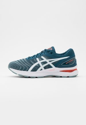 GEL NIMBUS 22 - Neutral running shoes - light steel/magnetic blue