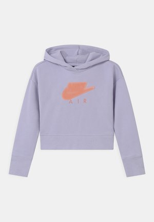 AIR CROP HOODIE  - Jersey con capucha - purple chalk