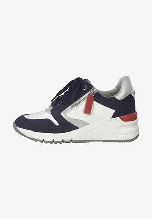Matalavartiset tennarit - white/navy
