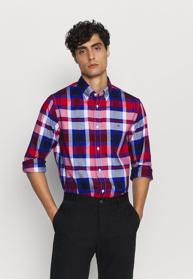 FLEX BRIGHT MIDSCALE CHECK - Koszula - red