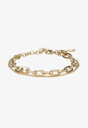 BRACCIALE CON CATENE - Armband - gold-coloured