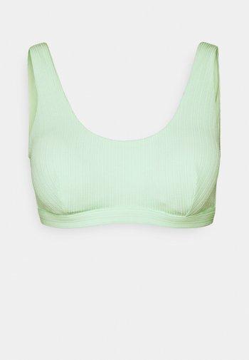 HALTER REMOVABLE PAD - Bikini top - mint