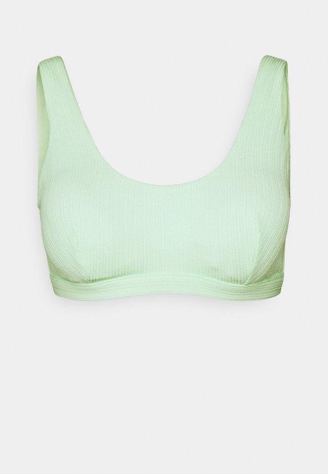 HALTER REMOVABLE PAD - Bikiniyläosa - mint