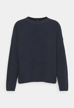 COPPED JUMPER - Sweatshirt - navy blazer