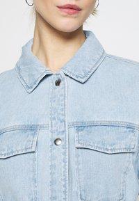 ONLY - ONLSOPHIA LIFE SHIRT JACKET - Jeansjakke - light blue denim - 5