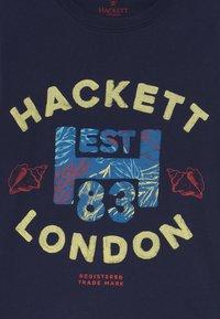 Hackett London - Print T-shirt - navy - 2