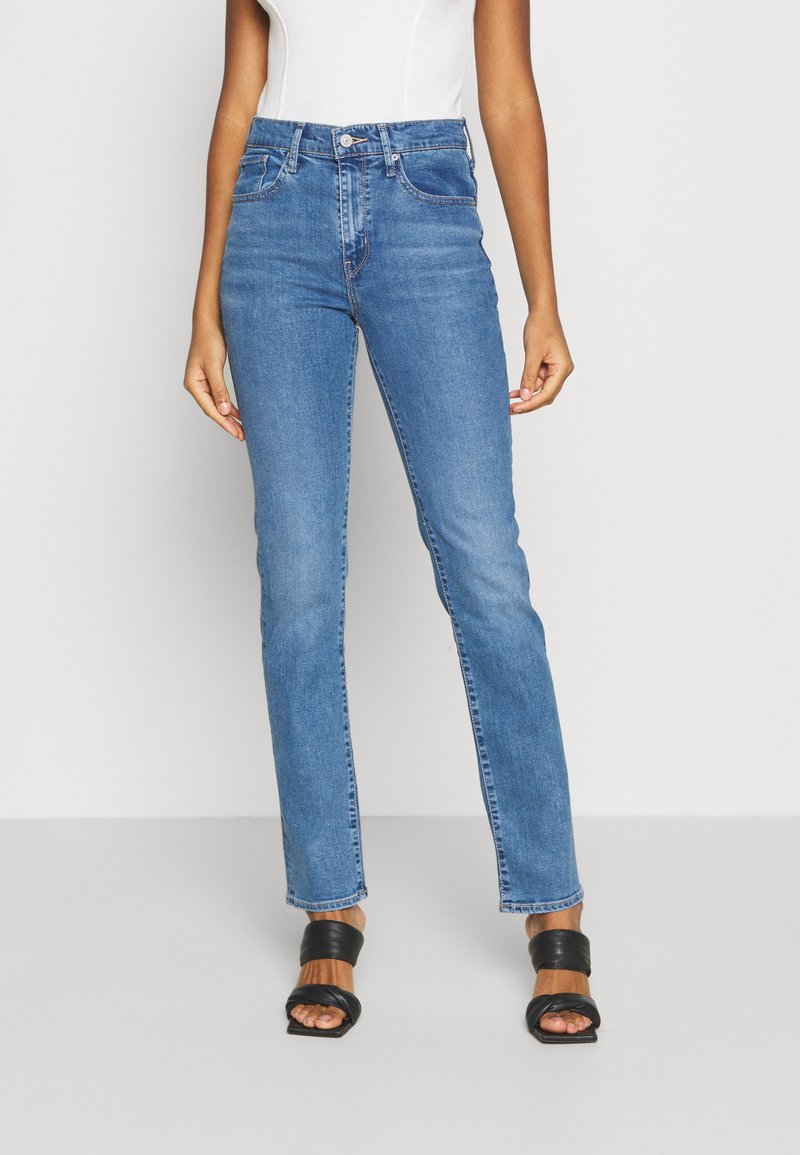 Levi's® - 724 HIGH RISE STRAIGHT - Jeans straight leg - rio frost