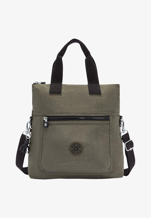 Shopping bag - green moss