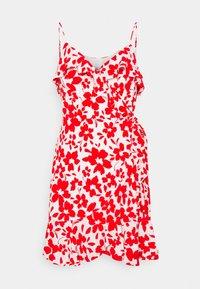 Forever New - BEA RUFFLE MINI DRESS - Robe d'été - ruby - 4