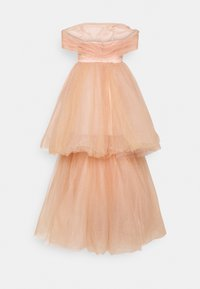 Maya Deluxe - BANDEAU TIERED MAXI DRESS - Occasion wear - champagne - 1
