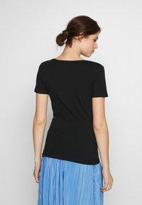 Anna Field Tall - 2 PACK  - T-paita - black/white - 3