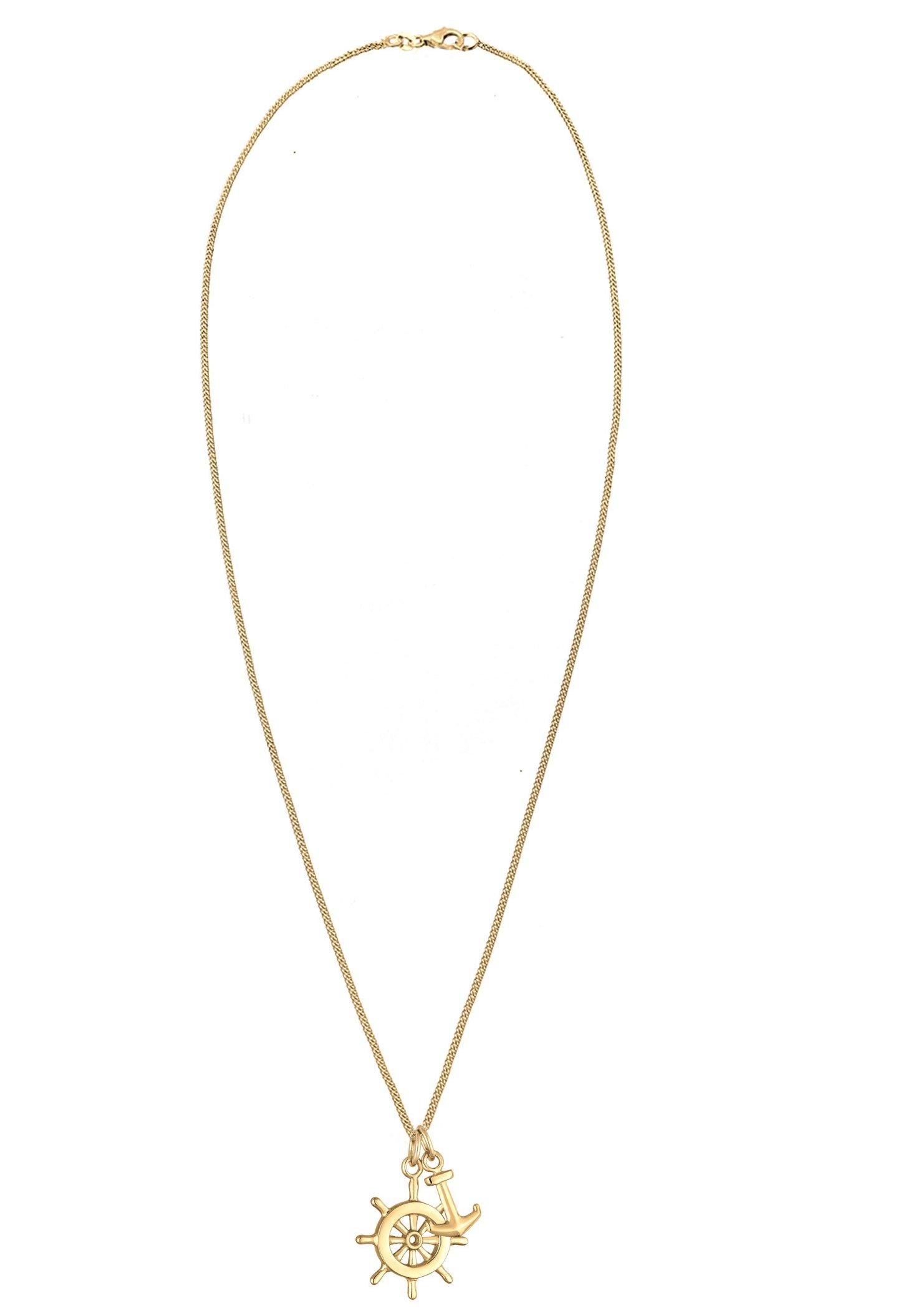 Elli Steuerrad Anker - Halskette Gold-coloured/gold
