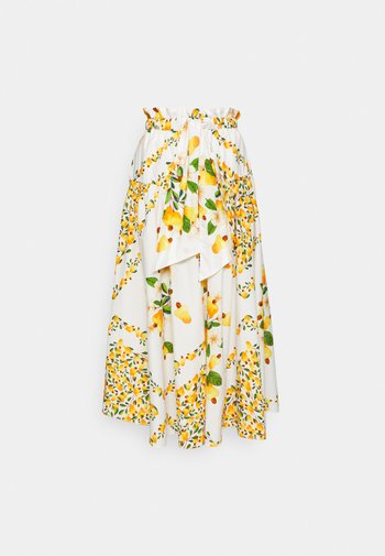 CASHEW SCARF MAXI SKIRT - Maksihame - off white