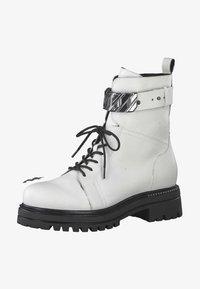 Tamaris - Cowboy-/Bikerlaarsjes - white 100 - 0