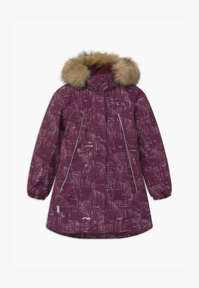 WINTER SILDA UNISEX - Cappotto invernale - deep purple