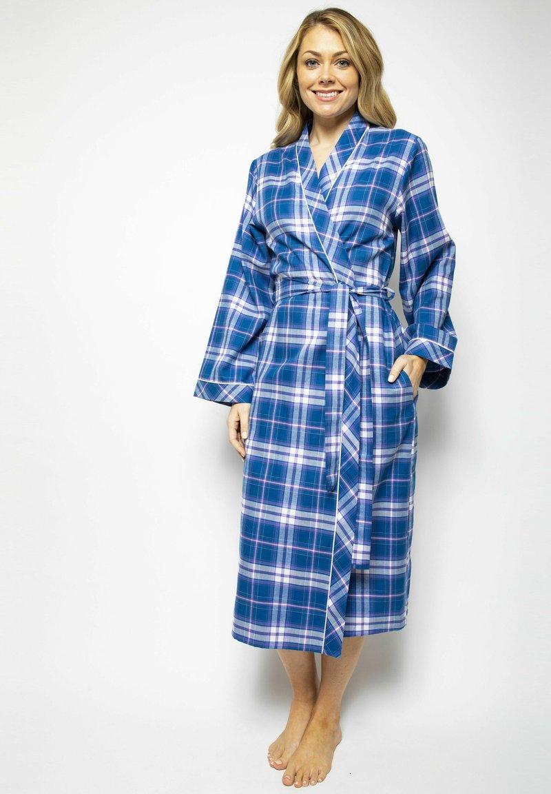 Cyberjammies - Dressing gown - blue chks