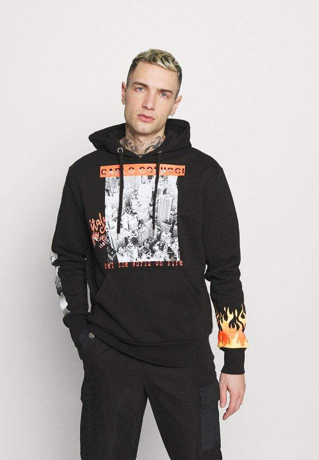 FLAME UNISEX - Sweater - black