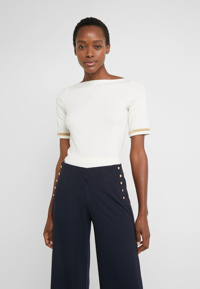 Lauren Ralph Lauren - T-shirts med print - mascarpone cream