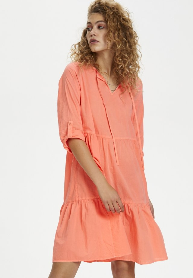 DHELBA  - Day dress - fiery coral