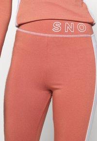 Topshop - SNO THERMAL  - Leggings -  pink - 4