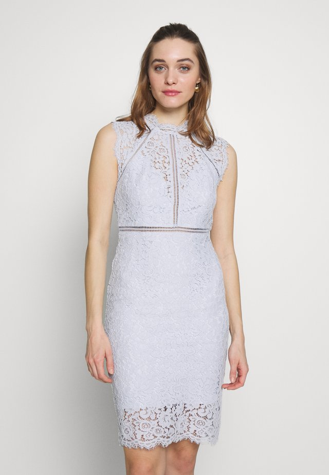 PANEL DRESS - Juhlamekko - blue mist