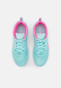 Reebok - RUSH RUNNER 3.0 UNISEX - Neutral running shoes - pink/white - 3