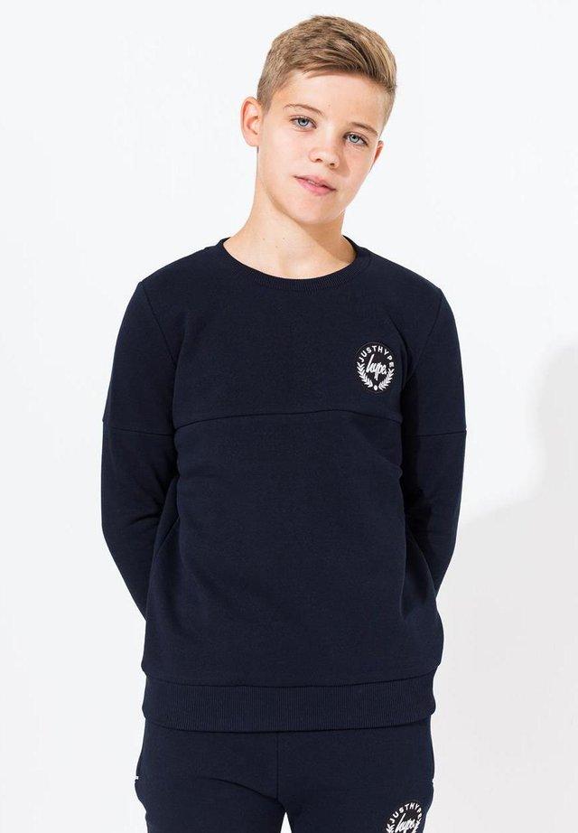 CREST - Sweater - navy
