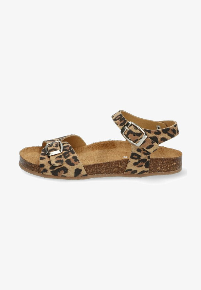SALLY SPAIN - Sandalen - leopard