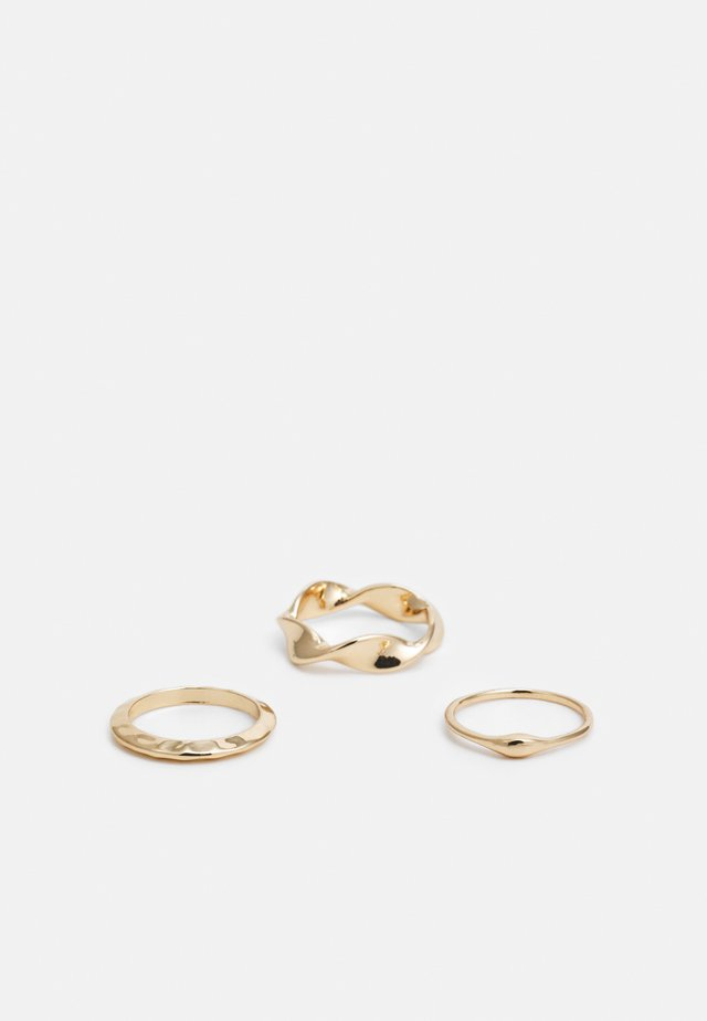 INA 3 PACK - Ring - gold-coloured