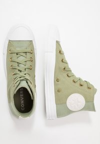 Converse - CHUCK TAYLOR ALL STAR - Höga sneakers - street sage/pale putty/white - 1