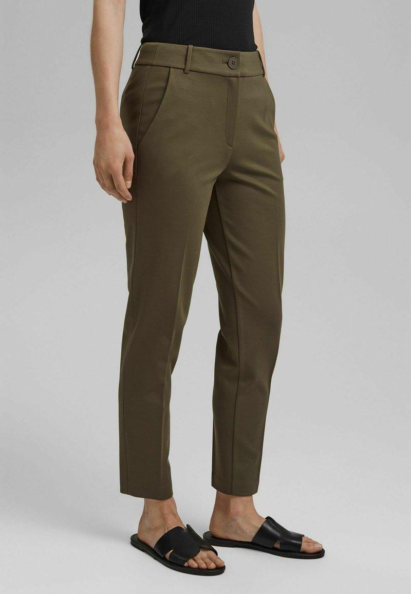 Esprit Collection - Trousers - dark khaki