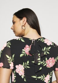 Dorothy Perkins Curve - OCCASIONL SLEEVE HIGH LOW  DRESS FLORAL - Day dress - multi coloured - 5