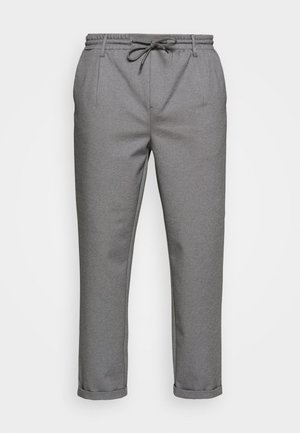 EBERLEIN WITH ROLL UP - Pantaloni - grey mix
