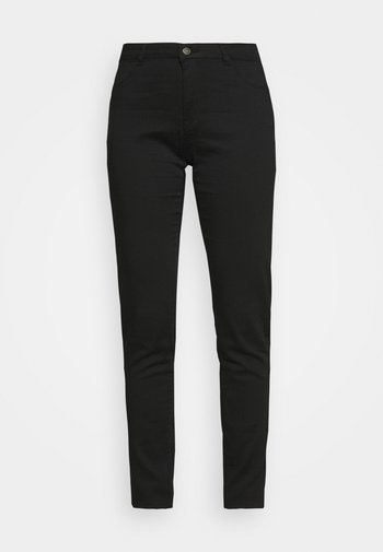 POWER SKINNY - Trousers - noir
